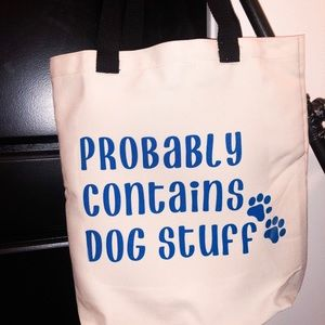 """Handbags - NWT tote """"probably contains dog stuff"""""""